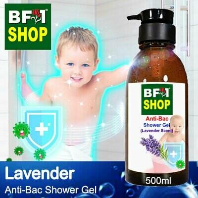 Anti-Bac Shower Gel (ABSG) - Lavender - 500ml