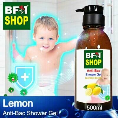 Anti-Bac Shower Gel (ABSG) - Lemon - 500ml