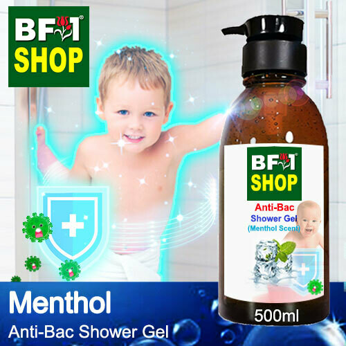 Anti-Bac Shower Gel (ABSG) - Menthol - 500ml