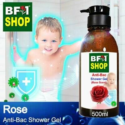 Anti-Bac Shower Gel (ABSG) - Rose - 500ml