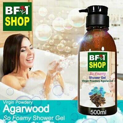 So Foamy Shower Gel (SFSG) - Virgin Powdery Agarwood - 500ml