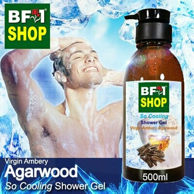 So Cooling Shower Gel (SCSG) - Virgin Ambery Agarwood - 500ml
