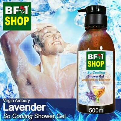 So Cooling Shower Gel (SCSG) - Virgin Ambery Lavender - 500ml