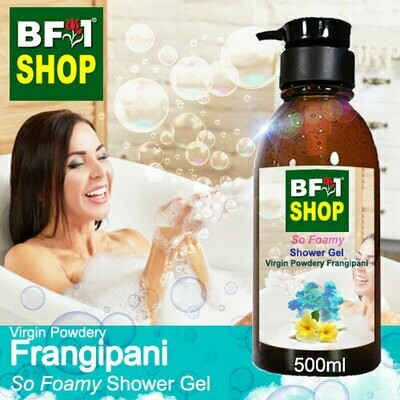 So Foamy Shower Gel (SFSG) - Virgin Powdery Frangipani - 500ml