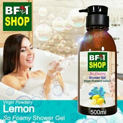 So Foamy Shower Gel (SFSG) - Virgin Powdery Lemon - 500ml