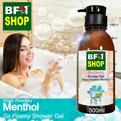 So Foamy Shower Gel (SFSG) - Virgin Powdery Menthol - 500ml