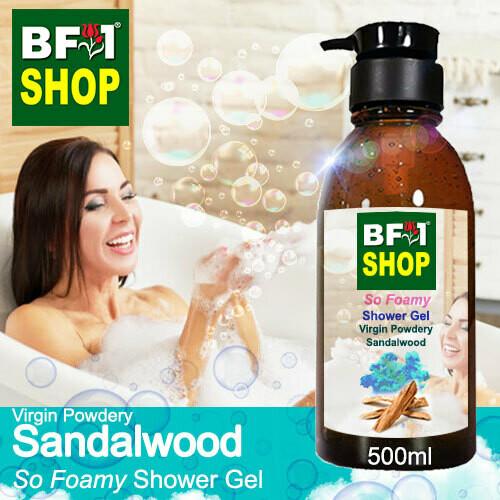 So Foamy Shower Gel (SFSG) - Virgin Powdery Sandalwood - 500ml