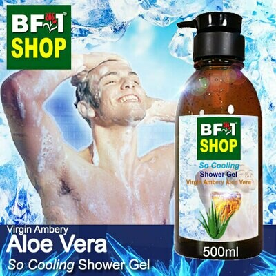 So Cooling Shower Gel (SCSG) - Virgin Ambery Aloe Vera - 500ml