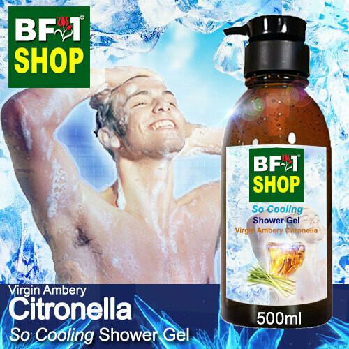 So Cooling Shower Gel (SCSG) - Virgin Ambery Citronella - 500ml