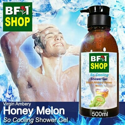 So Cooling Shower Gel (SCSG) - Virgin Ambery Honey Melon - 500ml