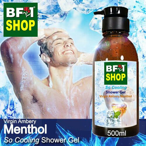 So Cooling Shower Gel (SCSG) - Virgin Ambery Menthol - 500ml