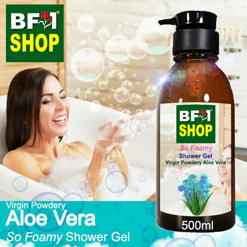 So Foamy Shower Gel (SFSG) - Virgin Powdery Aloe Vera - 500ml