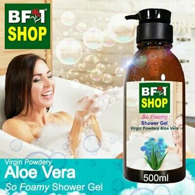 So Foamy Shower Gel (SFSG) - Virgin Powdery Aloe Vera - 500ml