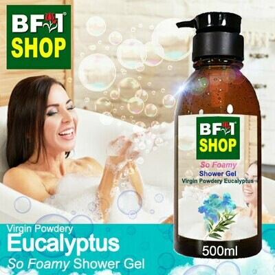 So Foamy Shower Gel (SFSG) - Virgin Powdery Eucalyptus - 500ml