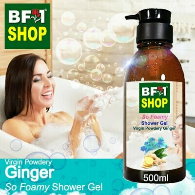 So Foamy Shower Gel (SFSG) - Virgin Powdery Ginger - 500ml