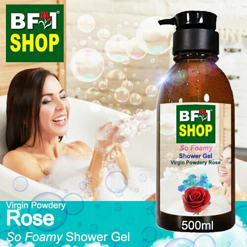 So Foamy Shower Gel (SFSG) - Virgin Powdery Rose - 500ml