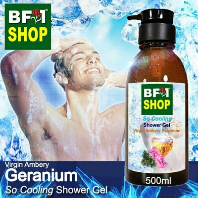 So Cooling Shower Gel (SCSG) - Virgin Ambery Geranium - 500ml