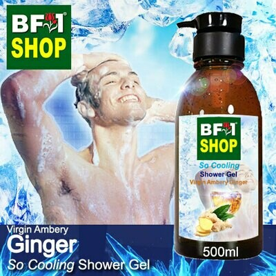So Cooling Shower Gel (SCSG) - Virgin Ambery Ginger - 500ml