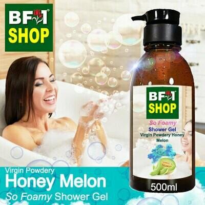 So Foamy Shower Gel (SFSG) - Virgin Powdery Honey Melon - 500ml