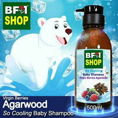 So Cooling Baby Shampoo (SCBS) - Virgin Berries Agarwood - 500ml