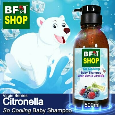 So Cooling Baby Shampoo (SCBS) - Virgin Berries Citronella - 500ml