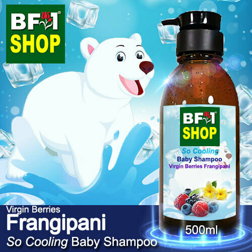 So Cooling Baby Shampoo (SCBS) - Virgin Berries Frangipani - 500ml