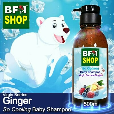So Cooling Baby Shampoo (SCBS) - Virgin Berries Ginger - 500ml