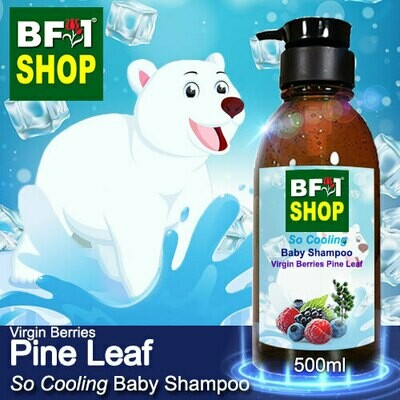 So Cooling Baby Shampoo (SCBS) - Virgin Berries Pine Leaf - 500ml