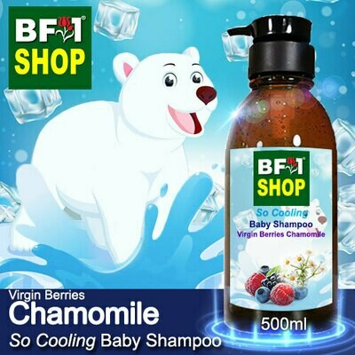 So Cooling Baby Shampoo (SCBS) - Virgin Berries Chamomile - 500ml