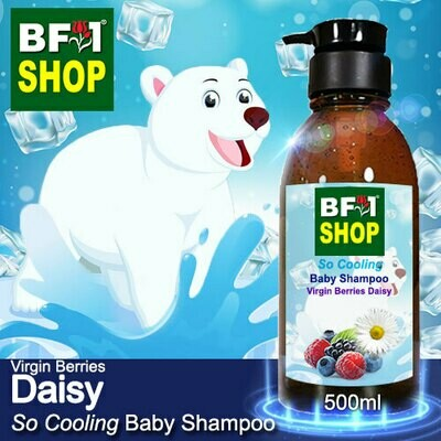So Cooling Baby Shampoo (SCBS) - Virgin Berries Daisy - 500ml