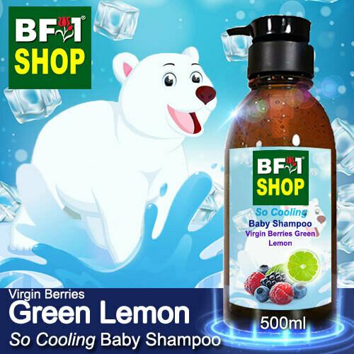 So Cooling Baby Shampoo (SCBS) - Virgin Berries Lemon - Green Lemon - 500ml