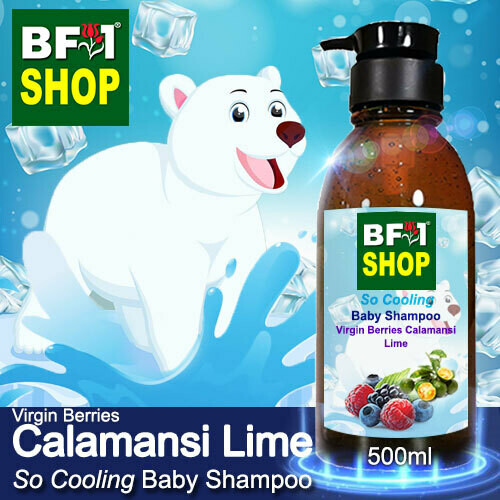 So Cooling Baby Shampoo (SCBS) - Virgin Berries lime - Calamansi Lime - 500ml