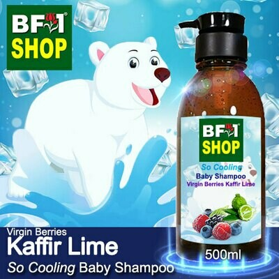So Cooling Baby Shampoo (SCBS) - Virgin Berries lime - Kaffir Lime - 500ml