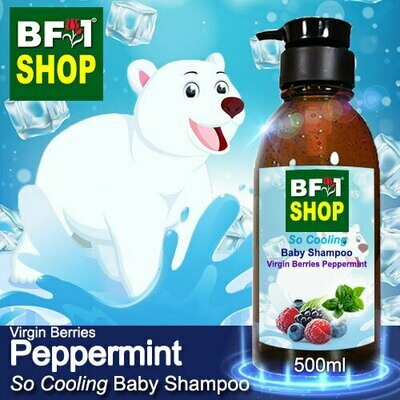 So Cooling Baby Shampoo (SCBS) - Virgin Berries mint - Peppermint - 500ml