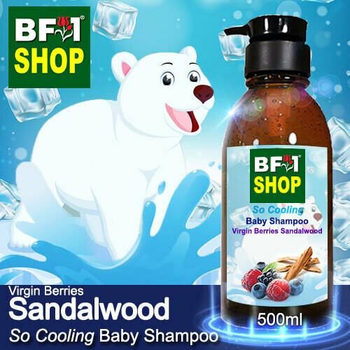 So Cooling Baby Shampoo (SCBS) - Virgin Berries Sandalwood - 500ml