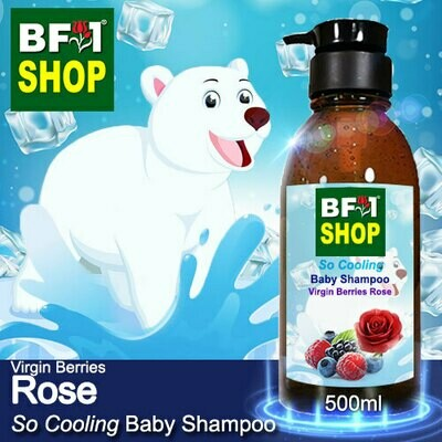 So Cooling Baby Shampoo (SCBS) - Virgin Berries Rose - 500ml