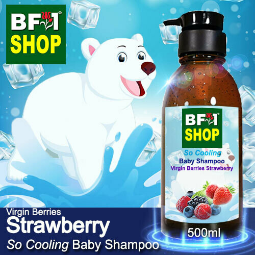 So Cooling Baby Shampoo (SCBS) - Virgin Berries Strawberry - 500ml