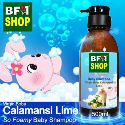 So Foamy Baby Shampoo (SFBS) - Virgin Boba lime - Calamansi Lime - 500ml