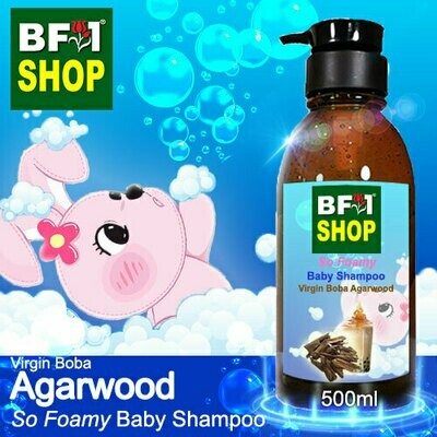 So Foamy Baby Shampoo (SFBS) - Virgin Boba Agarwood - 500ml