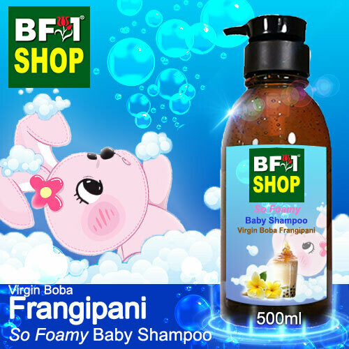 So Foamy Baby Shampoo (SFBS) - Virgin Boba Frangipani - 500ml