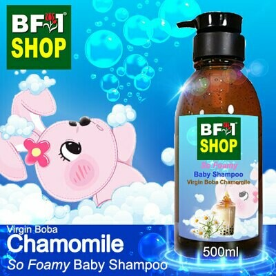 So Foamy Baby Shampoo (SFBS) - Virgin Boba Chamomile - 500ml