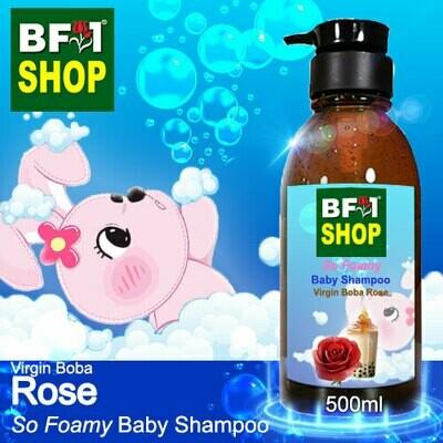 So Foamy Baby Shampoo (SFBS) - Virgin Boba Rose - 500ml