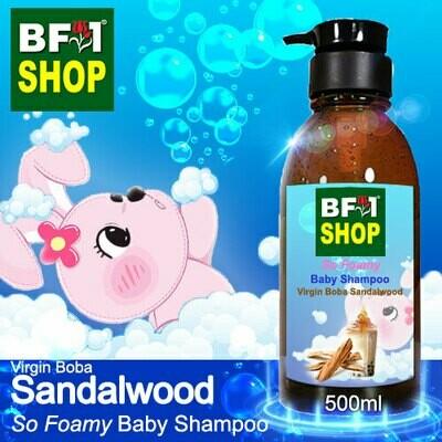 So Foamy Baby Shampoo (SFBS) - Virgin Boba Sandalwood - 500ml