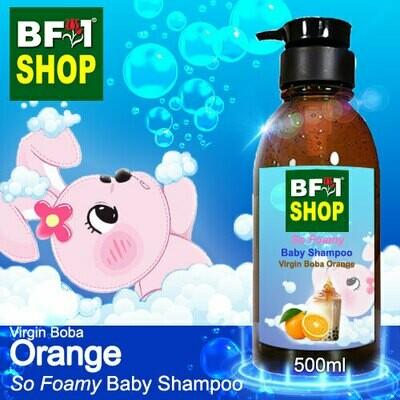 So Foamy Baby Shampoo (SFBS) - Virgin Boba Orange - 500ml
