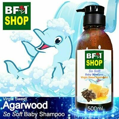 So Soft Baby Shampoo (SSBS1) - Virgin Sweet Agarwood - 500ml
