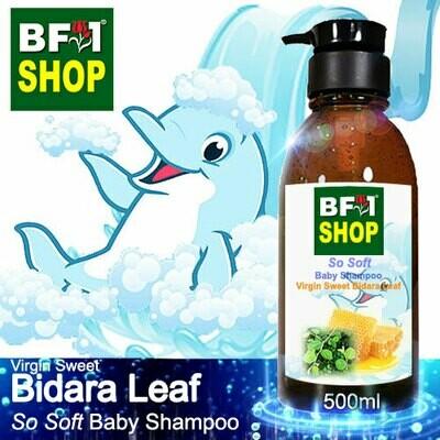 So Soft Baby Shampoo (SSBS1) - Virgin Sweet Bidara - 500ml