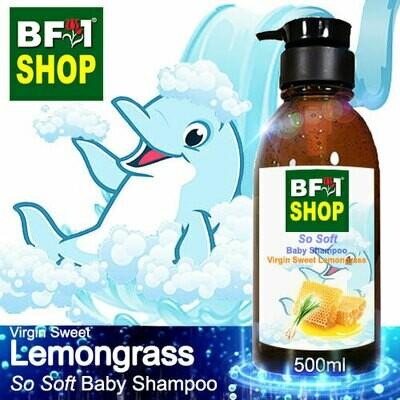 So Soft Baby Shampoo (SSBS1) - Virgin Sweet Lemongrass - 500ml