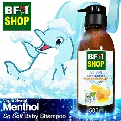 So Soft Baby Shampoo (SSBS1) - Virgin Sweet Menthol - 500ml