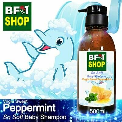 So Soft Baby Shampoo (SSBS1) - Virgin Sweet mint - Peppermint - 500ml