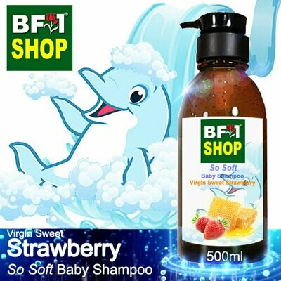 So Soft Baby Shampoo (SSBS1) - Virgin Sweet Strawberry - 500ml